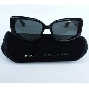 Marc By Marc Jacobs Black Polarized Sunglasses